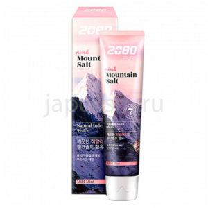 купить корейская зубная паста розовая гималайская соль Dental Clinic 2080 Pure Mountain Salt Mild Mint доставки заказов курьером и почтой
