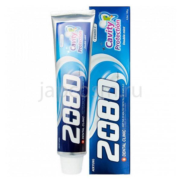 купить корейская зубная паста Натуральная мята Dental Clinic 2080 Cavity Protection Toothpaste сезонные и праздничные распродажи и акции