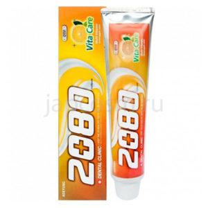 купить корейская зубная паста Витаминный уход Dental Clinic 2080 Vita Care Coenzyme Q10 Toothpaste сезонные и праздничные распродажи акции