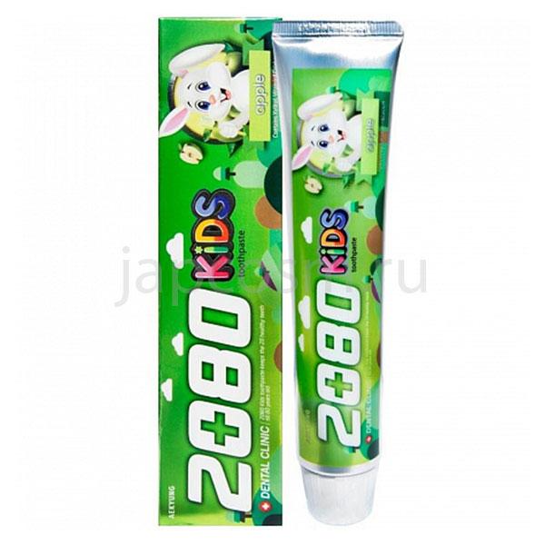 купить корейская детская зубная паста яблоко Смаланд Dental Clinic 2080 Kids Apple интернет магазин japcosm джапкосм товары детские из Кореи