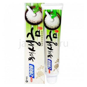 купить корейская зубная паста гелевая Лечебные травы и биосоли Dental Clinic 2080 Herb & Biosaltyu Toothpaste самовывоз Санкт-Петербург