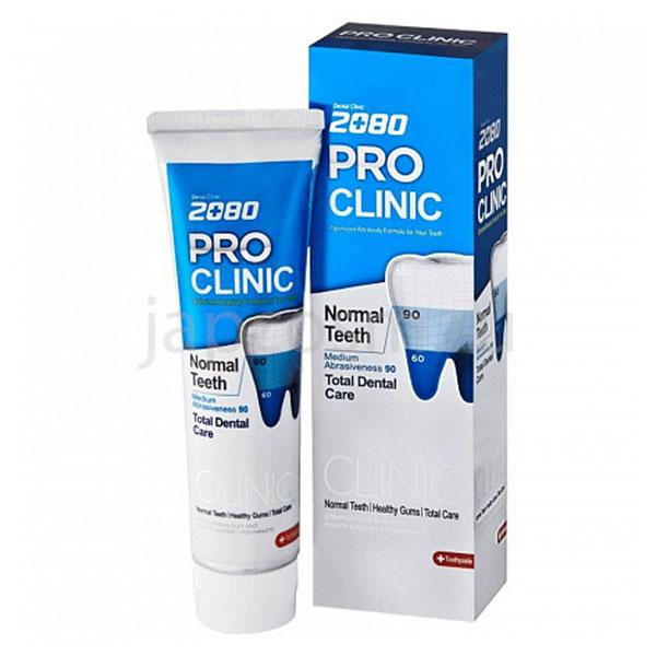 купить корейская Зубная паста Профессиональная защита Dental Clinic 2080 PRO-Clinic Toothpaste самовывоз Россия гибкая система разовых скидок