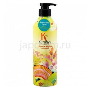 купить корейский парфюмированный шампунь Гламур КераСис KeraSys Glam & Stylish Perfumed Shampoo аромат цветов интернет магазин japcosm Москва