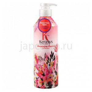 купить корейский парфюмированный кондиционер Флёр КераСис KeraSys Blooming & Flowery Perfumed Rinse интернет магащин japcosm доставка России