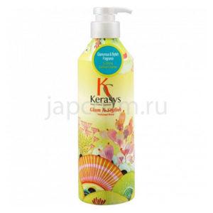 купить корейский парфюмированный кондиционер Гламур КераСис KeraSys Glam & Stylish Perfumed Rinse аромат цветов интернет магазин japcosm