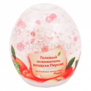 купить корейский гелевый освежитель воздуха Персик Kerasys HomeSys Air Freshener Aroma Globe Peach магазин japcosm джапкосм Санкт-Петербург