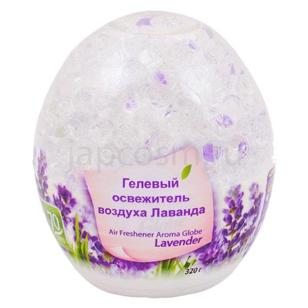 купить корейский гелевый освежитель воздуха Лаванда Kerasys HomeSys Air Freshener Aroma Globe Lavander магазин japcosm джапкосм Москва