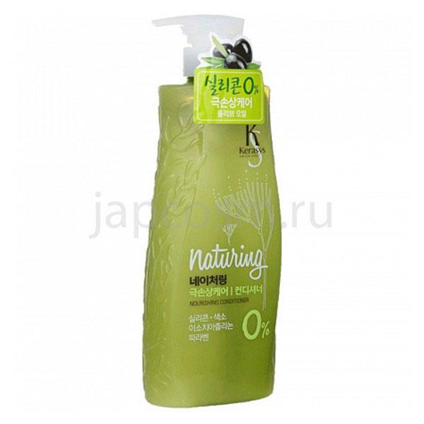 купить кондиционер питание для волос с морскими водорослями и оливковым маслом КераСис Натуринг KeraSys Naturing Nourishing Conditioner