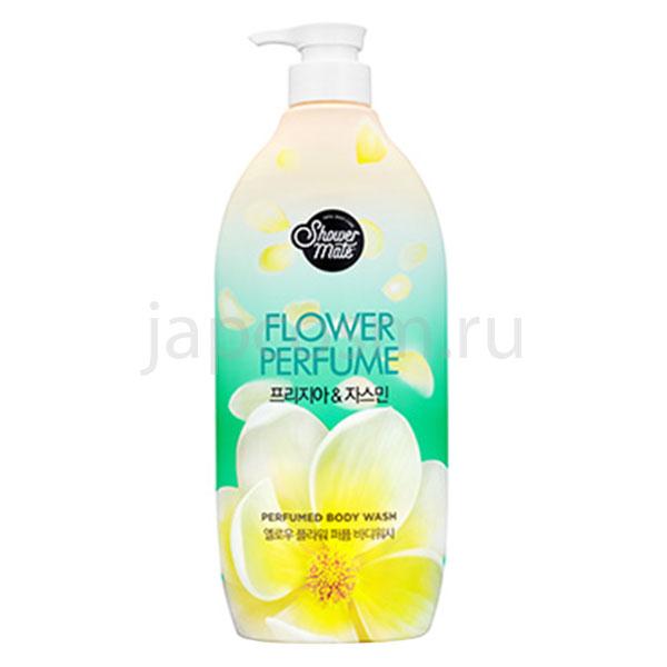 купить гель для душа Жасмин КераСис Шауэр Мэйт KeraSys Shower Mate Yellow Flower Perfumed Body Wash доставка самовывоз России отзывы клиентов