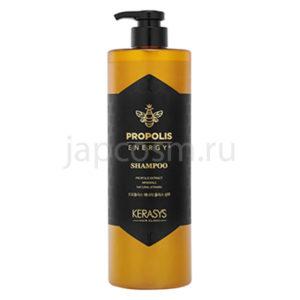 купить корейская шампунь для волос жизненная сила с прополисом КераСис KeraSys Hair Clinic Propolis Shine Shampoo интернет магазин japcosm