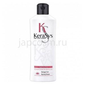 купить восстанавливающий шампунь КераСис KeraSys RepaIring Shampoo, косметика для ухода за волосами для всей семьи для всех типов волос