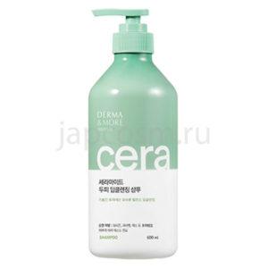 купить шампунь глубокое очищение Derma & More Ceramide Deep Cleansing Shampoo интернет магазин товаров из Южной Кореи Японии Тайланда