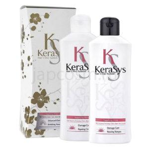 купить подарочный набор: восстанавливающий шампунь + восстанавливающий кондиционер КераСис Kerasys Gift Set RepaIring с самовывозом по России