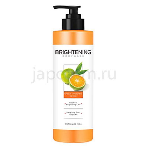 купить гель для душа заряд энергии зеленый мандарин КераСис Шауэр Мэйт KeraSys Shower Mate Green Tangerine Brightening Care Body Wash новинки
