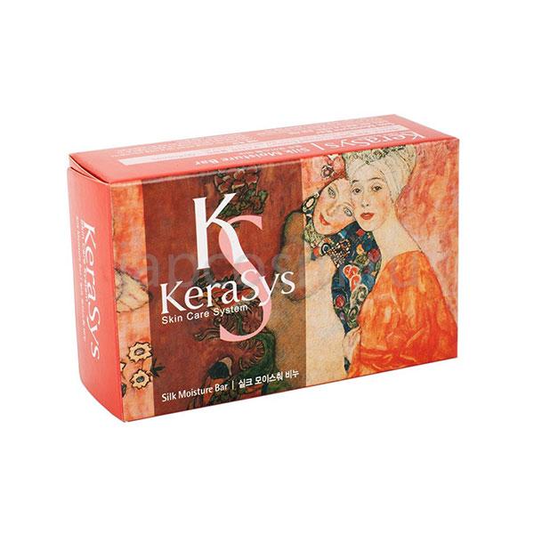 купить туалетное твердое мыло увлажняющее КераСис Силк Моистур KeraSys Silk Moisture Soap интернет магазин japcosm с доставкой по России