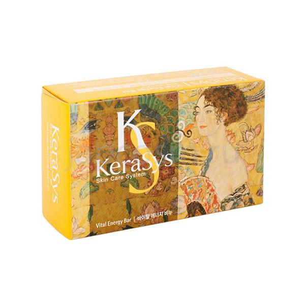 купить туалетное твердое мыло жизненная энергия КераСис Витал Энерджи KeraSys Vital Energy Soap из Южной Кореи самовывоз доставка курьером