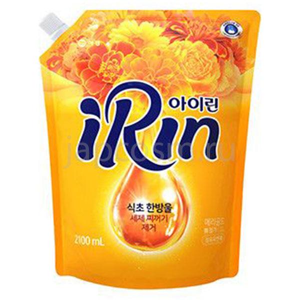купить корейский Кондиционер для белья полевые цветы Айрин Irin Soft Yellow бытовая химия для дома стирки уборки мытья посуды оптом розницу