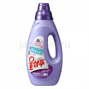 купить корейское жидкое средство для стирки свежесть Вул Шампу Wool Shampoo Fresh средство для стирки шерсти шелка деликатных тканей оптом