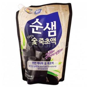 купить корейское средство для мытья посуды бамбуковый уголь Soonsaem Bamboo Charcoal купить недорого бытовую химию оптом и в розницу.