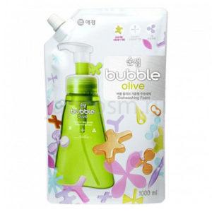 купить корейская пенка для мытья посуды оливки Soonsaem Bubble Olive товары Кореи Японии Китая Тайланда Азии интернет магазин japcosm джапкосм