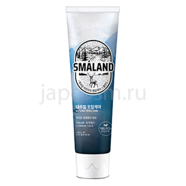корейская зубная паста ледяная мята Нордик Смаланд Smaland Nordic Fresh Mint купить недорого косметику средства гигиены бытовую химию