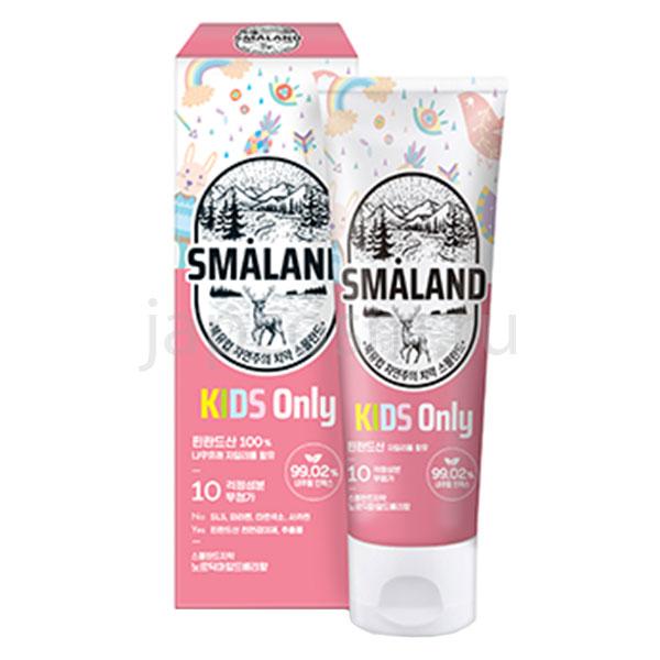 корейская детская зубная паста ягодная Смаланд Smaland Nordic Mild Berry Kids купить товары для детей интернет магазина japcosm джапкосм