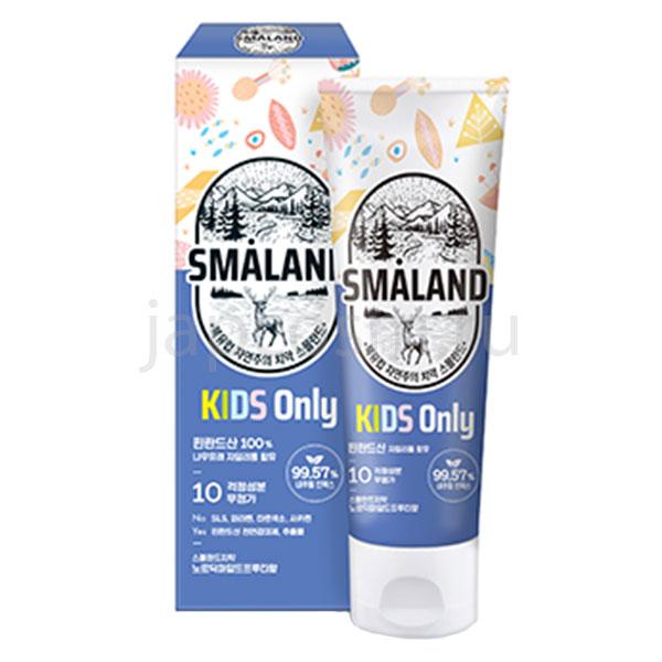 корейская детская зубная паста фруктовая Смаланд Smaland Nordic Mild Fruity Kids купить товары для детей интернет магазина japcosm джапкосм