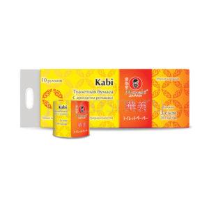 купить туалетная бумага трехслойная Ромашка Maneki Kabi Premium, упить хозтовары оптом и в розницу интернет магазин товаров из Кореи и Японии