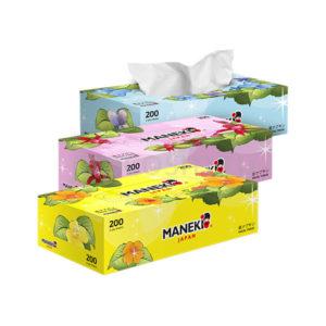 купить салфетки бумажные двухслойные Maneki Dream магазин товары из японии оптом и в розницу, лучшее соотношение цены - качества Japcosm