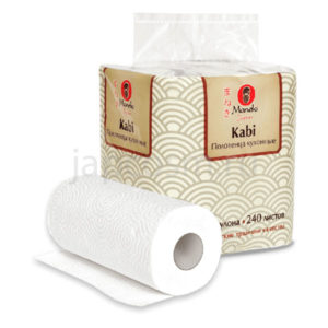 купить Полотенца кухонные бумажные двухслойные Maneki Kabi интернет магазин товаров japcosm джапкосм недорого товары из Японии и Южной Кореи