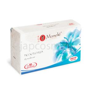 купить полотенца бумажные для диспенсера V-сложения Maneki Dream, купить недорого товары из японии интернет магазин оптом и в розницу Москва