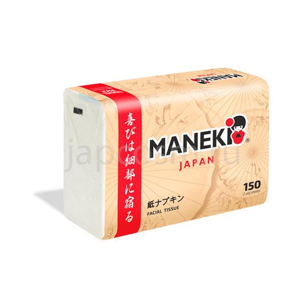 купить салфетки бумажные в мягкой упаковке Maneki Kabi магазин японских товаров оптом и в розницу подробное описание отзывы клиентов доставка