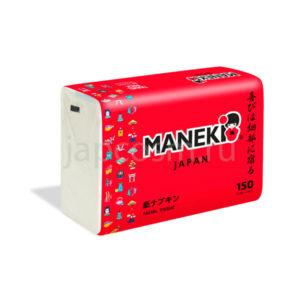 купить салфетки бумажные в мягкой упаковке Maneki Red магазин японских товаров оптом и в розницу подробное описание отзывы клиентов доставка